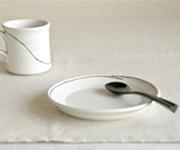 カップ皿・彫
